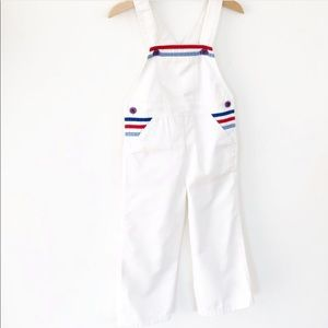 Vintage Lacoste Overalls evc Size 3T